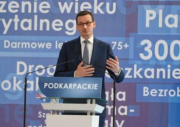 Morawiecki: PiS jest partią polską. Mam nadzieję, że i inne partie będą partiami polskimi