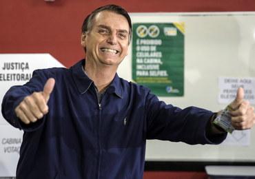 Brazylia: Wyborczy sukces Bolsonaro, będzie jednak druga tura