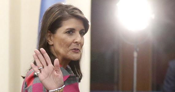 Niespodziewana decyzja Nikki Haley - dyplomatka zrezygnowała z funkcji ambasadora USA przy Organizacji Narodów Zjednoczonych. Ma odejść z tego stanowiska z końcem roku - przekazał Donald Trump. Prezydent USA - na wspólnej z Haley konferencji w Białym Domu - przekazał, że sześć miesięcy temu ta poprosiła go o przerwę w pracy.