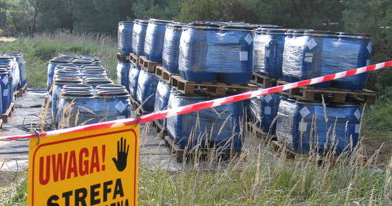 Policjanci udaremnili próbę składowania niebezpiecznych odpadów w Bytomiu. Zarzuty, jak na razie, usłyszały dwie osoby. Jeszcze dziś sąd ma rozpatrywać wniosek o ewentualne tymczasowe areszty dla podejrzanych.