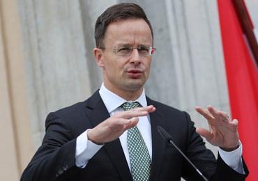 Ostre słowa szefa węgierskiego MSZ na temat Ukrainy