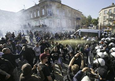 Lublin: Po Marszu Równości 8 policjantów rannych, zatrzymano 21 osób