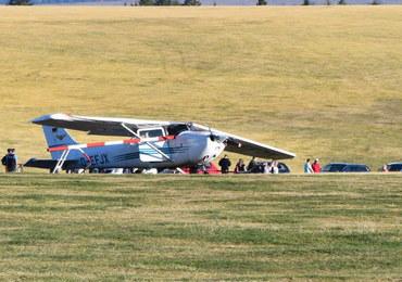 Samolot wleciał w tłum w Niemczech. Są ofiary