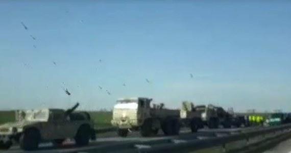 Kontener z amunicją spadł z wojskowej ciężarówki, należącej do amerykańskiej armii. Do tego zdarzenia doszło na dolnośląskim odcinku A4.
