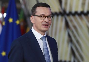 Morawiecki o Brexicie: Staramy się proponować rozwiązania, które będą kompromisowe