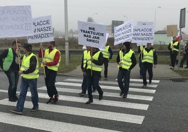 Protest na drodze w Żorach. Mogą tworzyć się korki