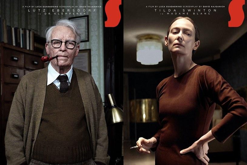 """Kolejna zdumiewająca metamorfoza laureatki Oscara. Tilda Swinton """"zmieniła płeć"""" w horrorze """"Suspira"""". Tym razem zagrała... niemieckiego osiemdziesięciolatka!"""