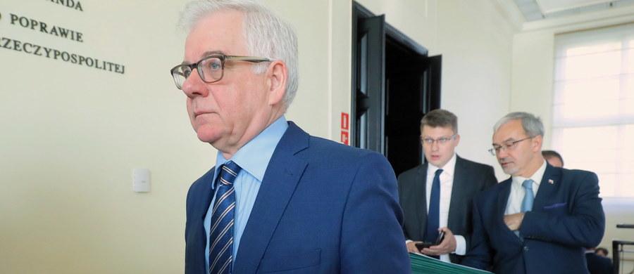 W poniedziałek szef MSZ Jacek Czaputowicz spotka się w Brukseli z sekretarzem generalnym NATO Jensem Stoltenbergiem. Rozmowy będą dotyczyć adaptacji zdolności obronnych państw sojuszniczych; strona polska przedstawi też stanowisko i stan rozmów w sprawie zwiększenia obecności wojsk USA na terytorium Polski.