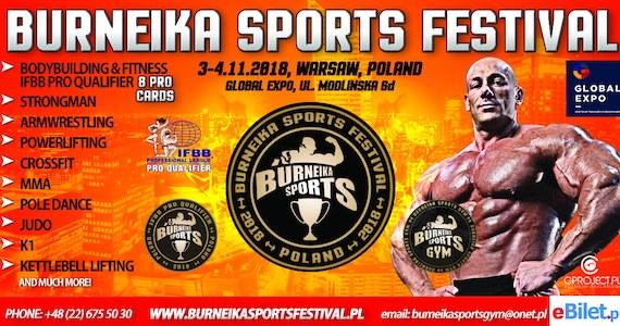 Burneika Sports Festival będą największymi targami sportowymi w Polsce, naprawdę mocne uderzenie.