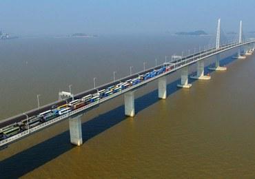 Najdłuższy most na świecie otwarty. Gigantyczny koszt budowy