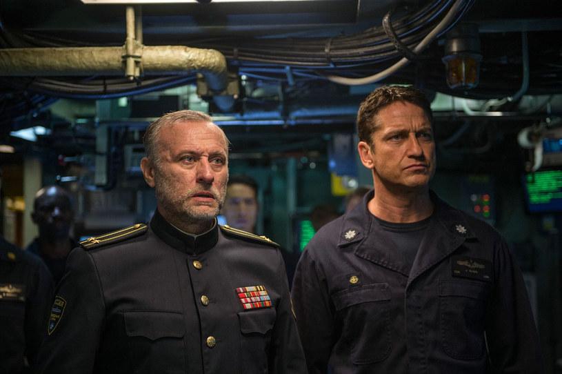 """Jedna z ostatnich ról wybitnego szwedzkiego aktora. Michael Nyqvist jako kapitan rosyjskiej łodzi podwodnej w filmie """"Ocean ognia"""""""