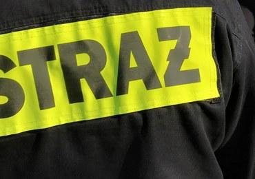 Pożar w bloku Warszawie. Jedna osoba zginęła