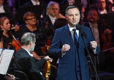 Andrzej Duda: Ten koncert to podziękowanie Panu Bogu za wolną ojczyznę