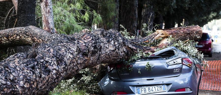 Co najmniej 12 osób zginęło we Włoszech w ciągu dwóch dni wichur, gwałtownych burz i powodzi - podają media powołując się na lokalne władze. Synoptycy ostrzegają, że nad kraj zbliża się kolejna fala niepogody.