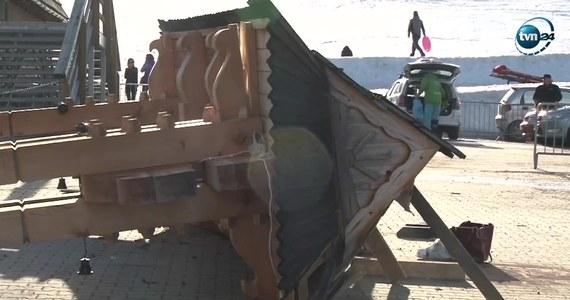 Jest akt oskarżenia zakopiańskiej prokuratury w sprawie wypadku w Białce Tatrzańskiej. W marcu silny podmuch wiatru przewrócił tam ozdobną drewnianą bramę. Na miejscu zginęła kobieta, a jej 7-letni wnuczek zmarł po kilku dniach w szpitalu.