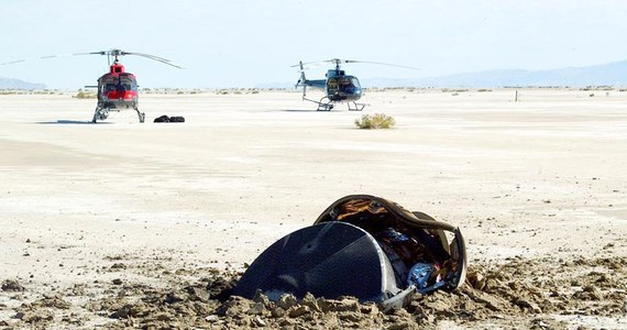 """NASA po raz pierwszy pokazała zdjęcie """"latającego spodka"""", który 14 lat temu rozbił się na pustyni w stanie Utah. To nie jest obcy statek kosmiczny - podkreślono."""