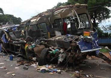 Dwa autobusy zderzyły się w Zimbabwe. 47 osób nie żyje