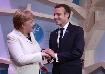 Macron i Merkel potępili wybory w Donbasie