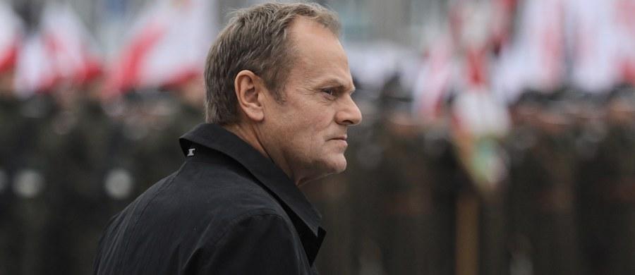 Szef Rady Europejskiej Donald Tusk wyjaśnił na Twitterze swoją sobotnią wypowiedź o bolszewikach. Chodzi o fragment sobotniego wystąpienia byłego premiera na Igrzyskach Wolności w Łodzi.