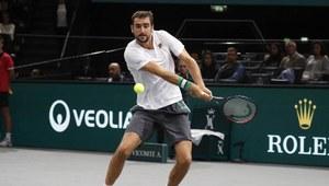 Tenis: Puchar Davisa - mecz finałowy gry pojedynczej: Francja - Chorwacja