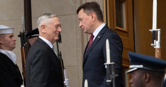 USA: Mariusz Błaszczak spotkał się z szefem Pentagonu