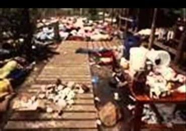 Masakra w Jonestown. 40 lat temu 900 osób popełniło zbiorowe samobójstwo