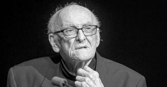 W wieku 89 lat zmarł Witold Sobociński - jeden z najwybitniejszych polskich operatorów filmowych. Komunikat informujący o jego śmierci wydała Szkoła Filmowa w Łodzi.