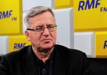 Bronisław Komorowski o ewentualnej komisji śledczej ws. afery KNF: PiS nie dopuści do jej powstania