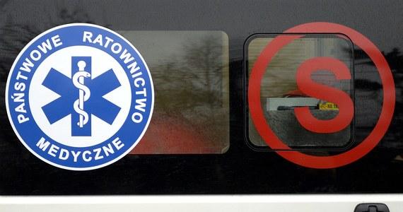 Wypadek na drodze krajowej nr 63 w Sokołowie Podlaskim. Doszło tam do zderzenia dwóch samochodów osobowych z ciągnikiem rolniczym.