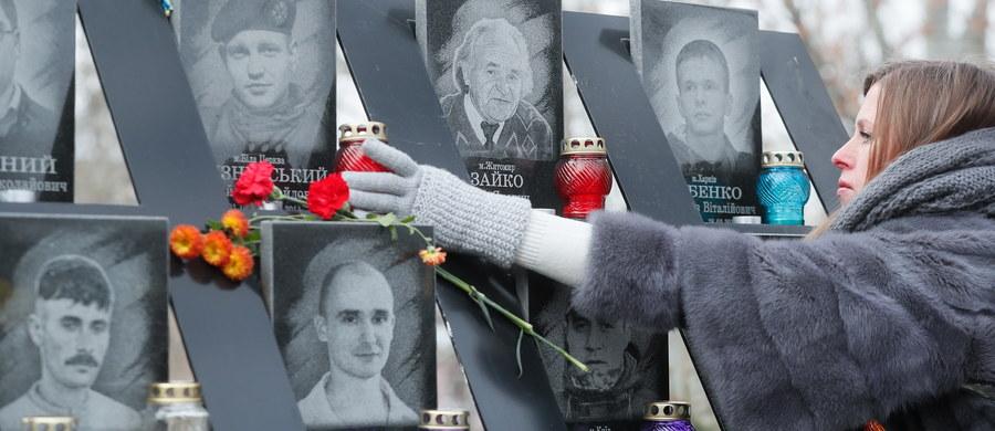 """""""Pięć lat temu Ukraińcy wyszli z pokojowym protestem na Majdan Niepodległości w Kijowie, by bronić swoich wartości i wolności"""" - napisał na Twitterze premier Ukrainy Wołodymyr Hrojsman. W środę obchodzono Dzień Wolności i Godności, poświęcony piątej rocznicy rewolucji godności z przełomu 2013 i 2014 r. oraz rocznicy pomarańczowej rewolucji z 2004 r."""
