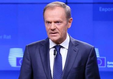 Tusk: UE i Wielka Brytania uzgodniły projekt deklaracji ws. przyszłych relacji