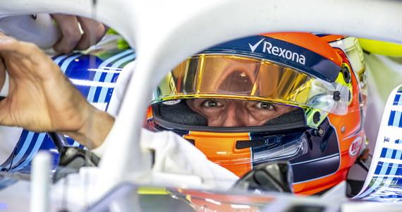 Robert Kubica poinformował, że podczas pierwszego treningu przed niedzielnym wyścigiem o Grand Prix Abu Zabi skupiał się przede wszystkim na tym, co czeka go - i jego team Williams - w przyszłym sezonie mistrzostw świata Formuły 1. Polak uzyskał najgorszy czas. W tym roku Kubica pełni rolę kierowcy testowego i rozwojowego w brytyjskim teamie. Jego kontrakt przewidywał kilka startów w treningach przed wyścigami o GP, w tym w piątek w Abu Zabi, oraz udział w oficjalnych testach między zawodami. W czwartek ogłoszono, że w 2019 roku będzie kierowcą wyścigowym Williamsa.