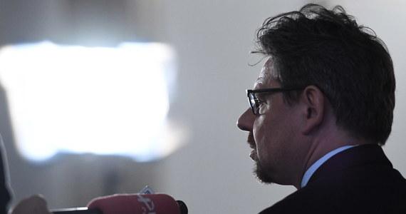 """Piotr Misiło, usunięty z Nowoczesnej, przyznaje, że liczył na proces przed sądem koleżeńskim. """"Szefowa partii Katarzyna Lubnauer podjęła decyzję, aby to zarząd mnie wyrzucił"""" - oświadczył."""