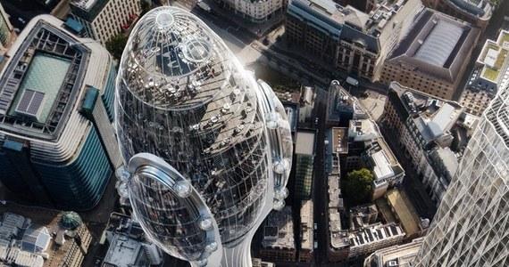 Nowy wieżowiec w Londynie ma być największą atrakcją Londynu, ale eksperci ostrzegają: może też zakłócić prace pobliskiego lotniska. Ponad 300 metrowy budynek stanie po północnej stronie Tamizy.