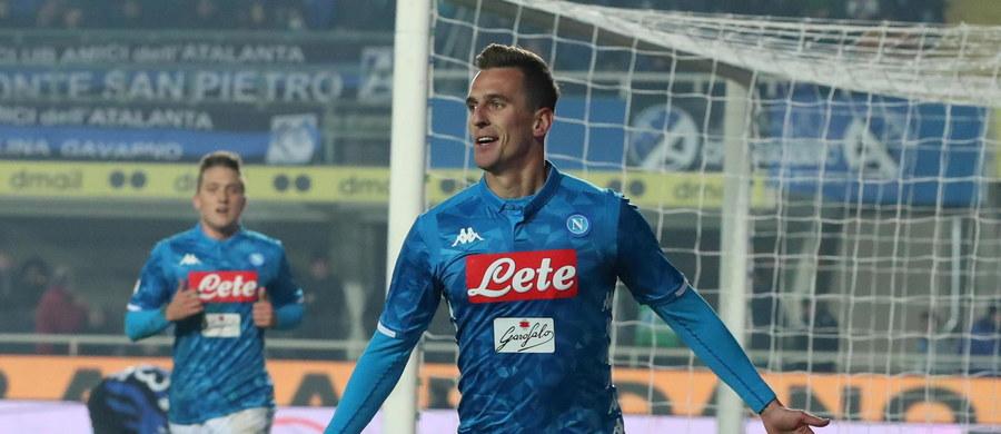 Gol Arkadiusza Milika w 85. minucie dał Napoli zwycięstwo 2:1 w wyjazdowym meczu z Atalantą Bergamo, który kończył 14. serię spotkań ligi włoskiej. To piąta bramka polskiego piłkarza w tym sezonie Serie A.