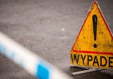 Śmiertelny wypadek pod mostem Poniatowskiego w Warszawie