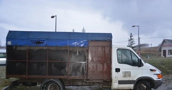Zarzut znęcania się ze szczególnym okrucieństwem nad końmi usłyszało dwóch obywateli Rumunii, którzy przewozili zwierzęta. Obcokrajowców zatrzymano na stacji paliw w Zboiskach k. Krosna (Podkarpackie) - poinformowała w poniedziałek podkarpacka policja.