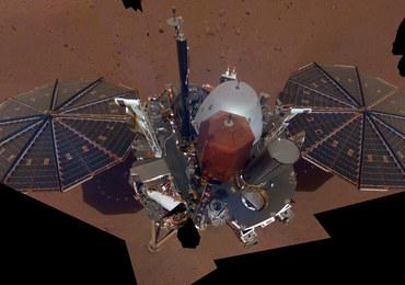 Pierwsze selfie sondy InSight na Marsie [ZOBACZ]