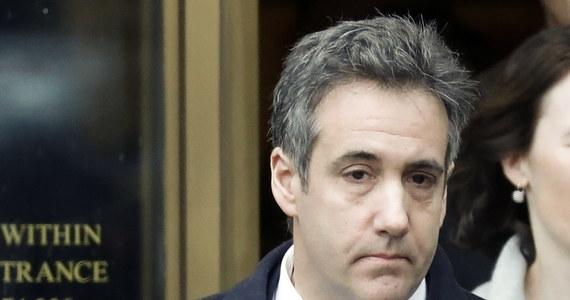 Na trzy lata więzienia został skazany były prawnik prezydenta Donalda Trumpa – Michael Cohen. Taki wyrok zapadł właśnie w Nowym Jorku.