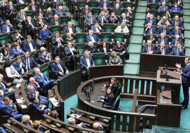 Wniosek o wotum nieufności dla rządu Morawieckiego odrzucony
