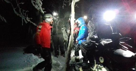 6-osobowa grupa turystów straciła orientację w masywie Bukowego Berda. Było już ciemno, więc poprosili o pomoc goprowców.