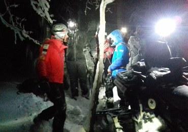 Turyści zgubili się w Bieszczadach. Akcja goprowców trwała 6 godzin