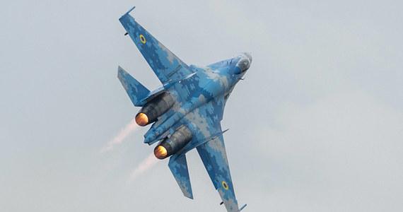 Na Ukrainie rozbił się samolot myśliwski Su-27. Do zdarzenia doszło podczas podejścia do lądowania. Pilot maszyny nie żyje - poinformował Sztab Generalny ukraińskich Sił Zbrojnych.