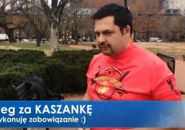 """Akcja """"Kaszanka"""". Korespondent RMF FM spełnił obietnicę złożoną internautom"""