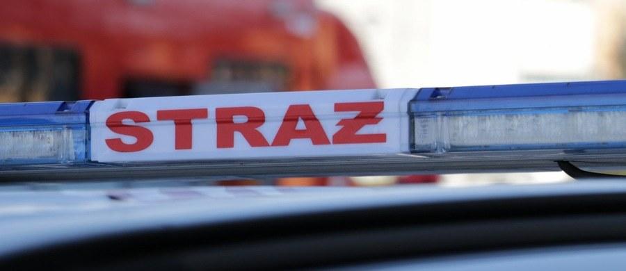 Niebezpiecznie zdarzenie w Warszawie. Na Moście Śląsko-Dąbrowskim zapalił się tramwaj.