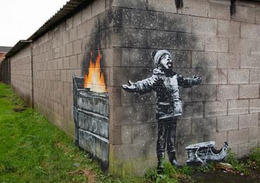 Banksy powrócił! Nowe graffiti w Walii