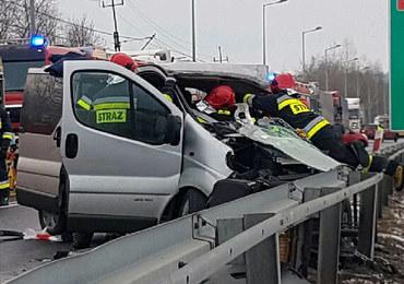 Wypadek na Podkarpaciu. 7 osób rannych
