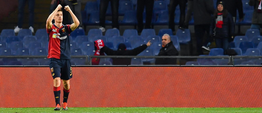 Krzysztof Piątek zdobył bramkę - według niektórych źródeł nawet dwie - dla Genoi w meczu 17. kolejki włoskiej ekstraklasy piłkarskiej. Jego zespół pokonał przed własną publicznością Atalantę Bergamo 3:1. To pierwsze zwycięstwo Genoi od 30 września.