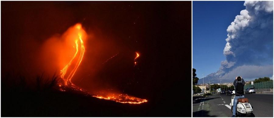 Wstrząs o magnitudzie 4,8 zarejestrowany został nad ranem w pobliżu aktywnego od dwóch dni wulkanu Etna na Sycylii. Jak poinformowały lokalne służby medyczne, w wyniku wstrząsu lekkie obrażenia odniosło 28 osób. Niektórym udzielono pomocy medycznej w związku z atakiem paniki. Szkody zanotowano na terenie sześciu gmin.