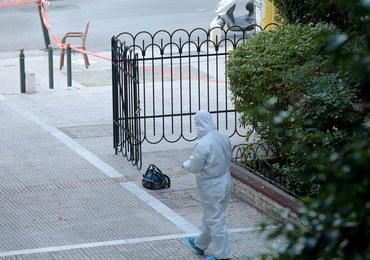 Kolejny wybuch w Atenach. Policjant został ranny